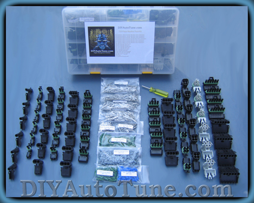 Our 755 Piece WeatherPack kit (yes we offer smaller kits too)